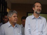 Ex-Governador Alcides Rodrigues e Ex-Prefeito Pedro Sahium