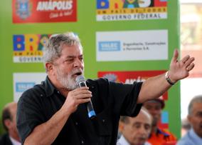Lula falou aos anapolinos sobre as realizações de seu governo no Centro Oeste