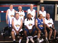 Veteranos de Goiás deram um show no campeonato nacional de basquete master