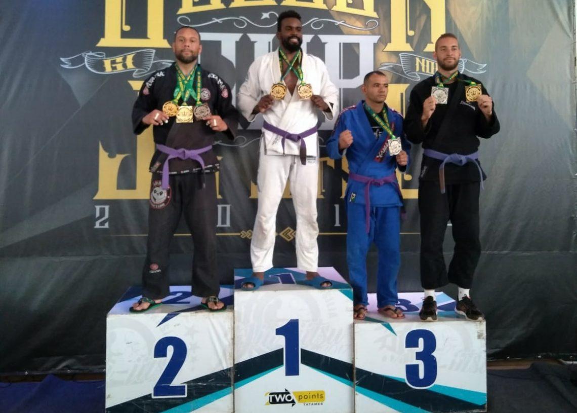 Hebert Leandro Ferreira garante bons resultados no Jiu Jitsu