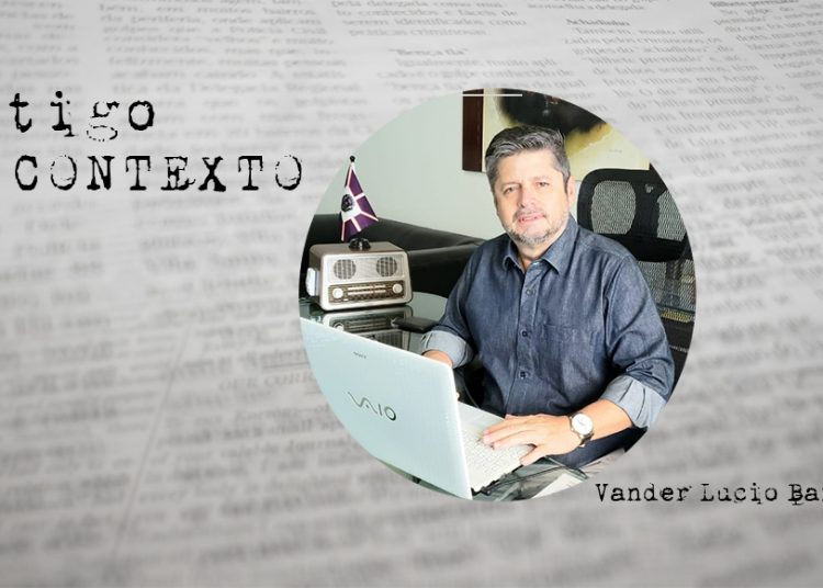 Vander Lúcio Barbosa, diretor geral do jornal Contexto