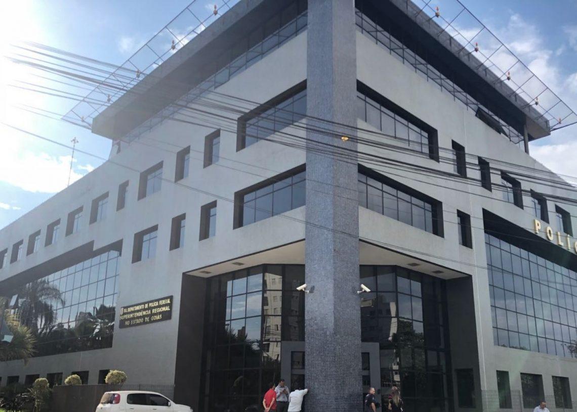Sede da Polícia Federal em Goiânia — Foto: Paula Resende