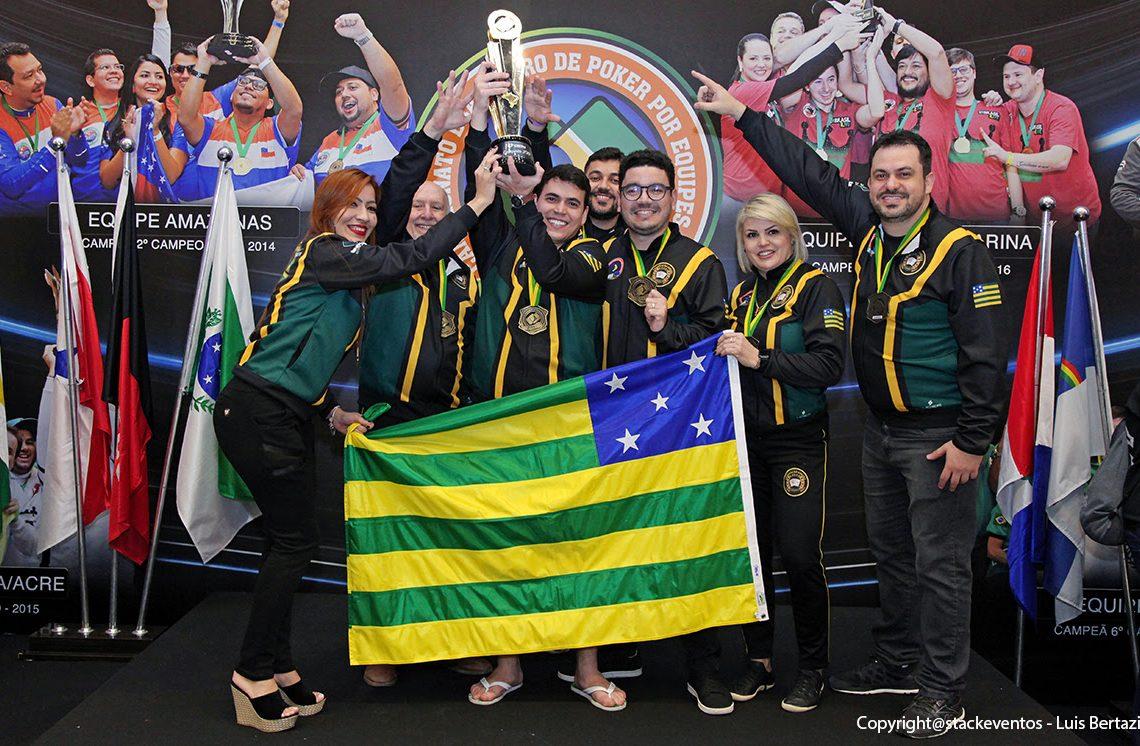 Campeões de pôquer Goiás