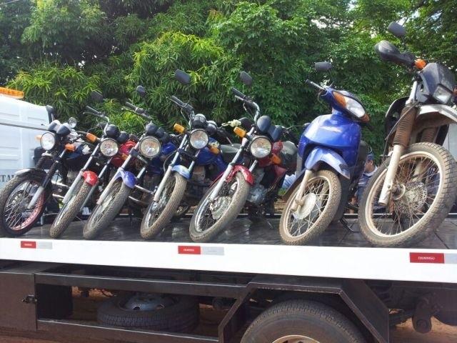 PM Motos apreendidas em Anápolis