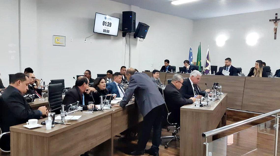 Plenário da Câmara MUnicipal de Anápolis
