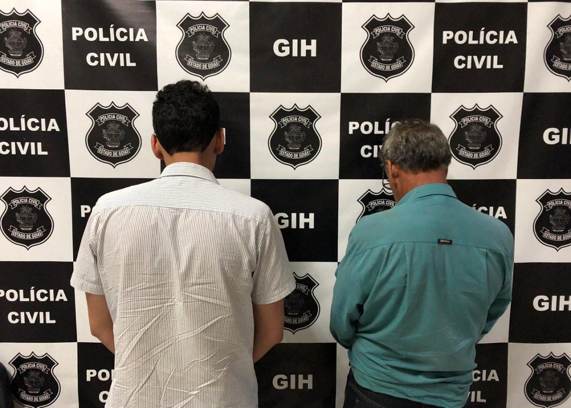 Presos GIH Anápolis Policia Civil wp 28.8.19
