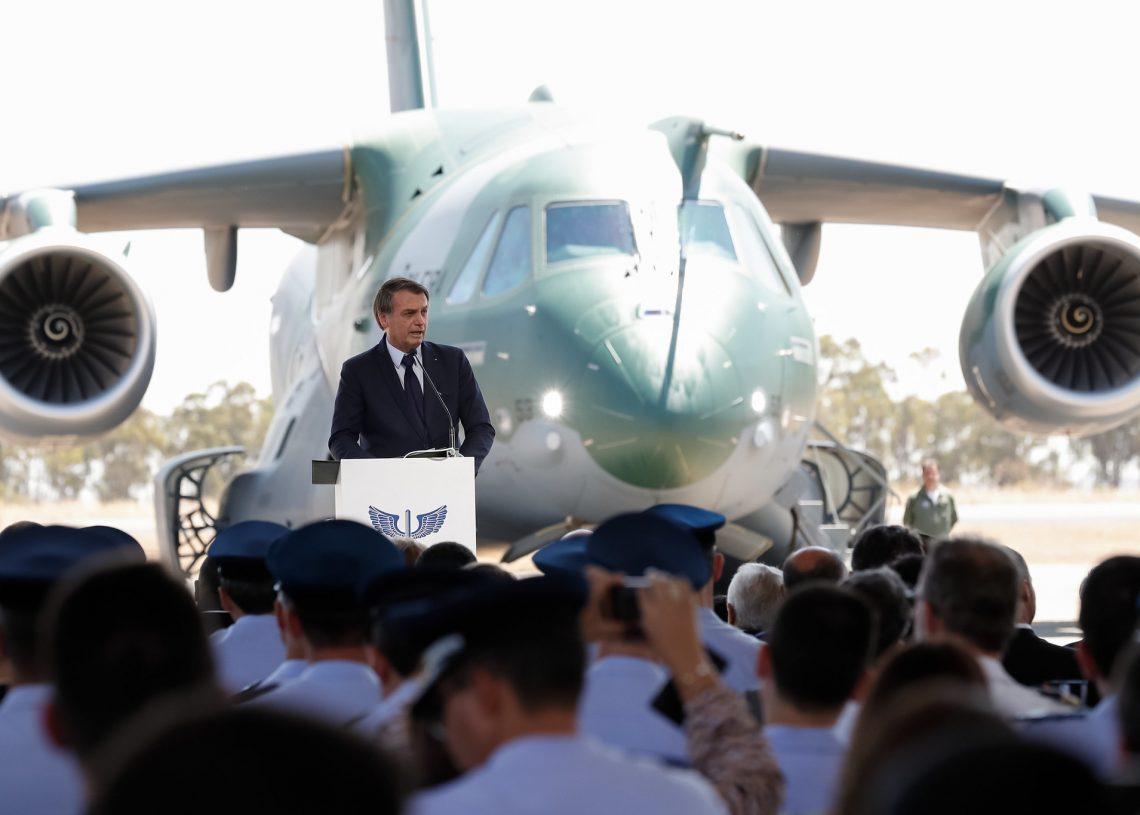 Cerimônia entrega KC 390