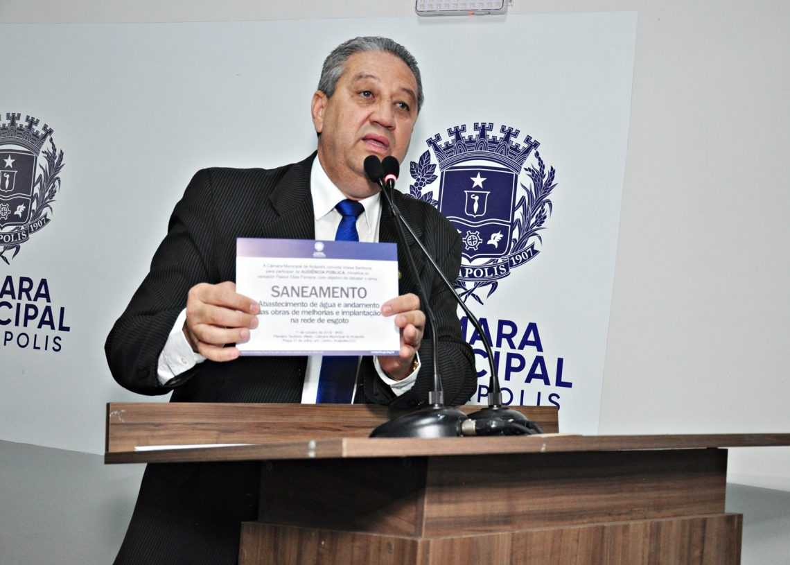 Vereador Pastor Elias PSDB