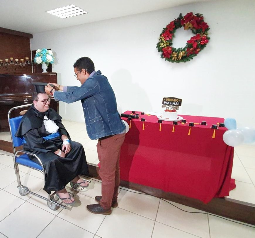 Paciente HEG Colação de Grau- Foto Felipe Homsi