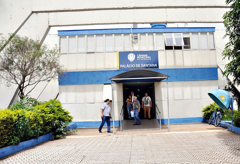 Câmara Municipal de Anápolis- Foto Ismael Vieira