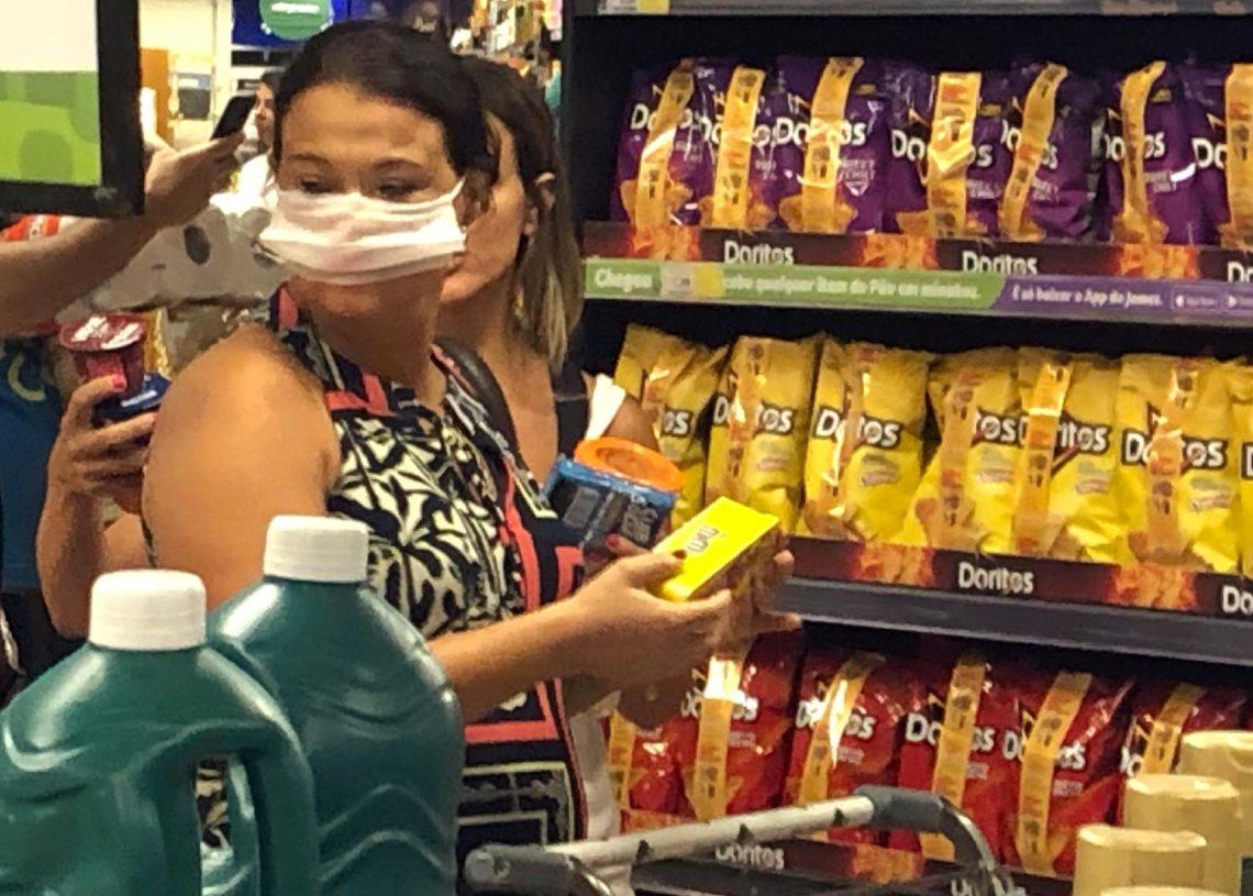 Queda no consumo é reflaxo da pandemia, conclui pesquisa