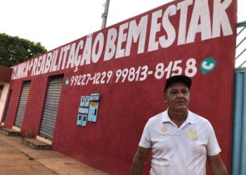 José Carlos Evangelista impulsionou o projeto da clínica que atende 34 pessoas