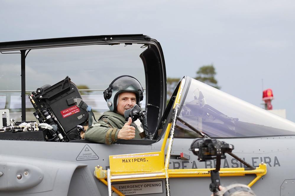 Voo Gripen- Imagens FAB- Contexto