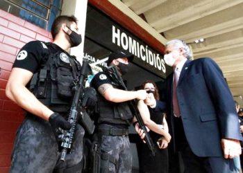 Caiado Polícia Civil Goiás