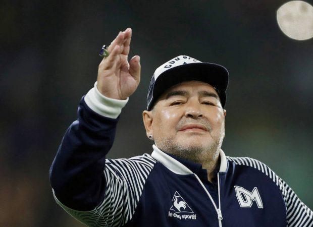 Diego Maradona (Foto: Agustin Marcarian / 7mar20 / Reuters)