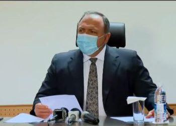 Ministro da Saúde, Eduardo Pazuello, em coletiva de imprensa realizada na tarde deste domingo, 17/01. (Foto: Reprodução/ CNN)