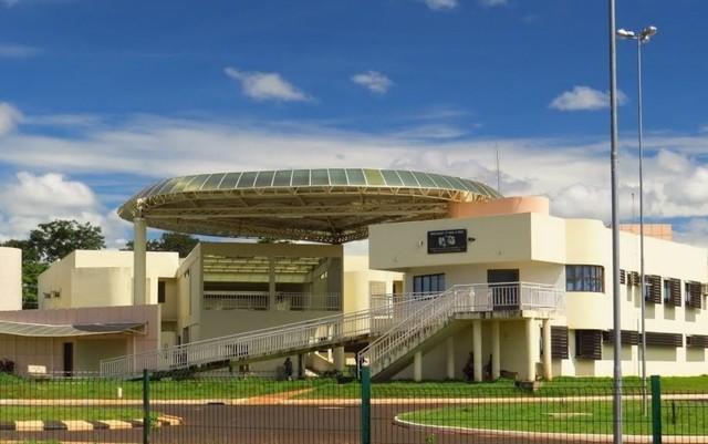 Sede do campus da UEG em Itumbiara — Foto: Reprodução/Google