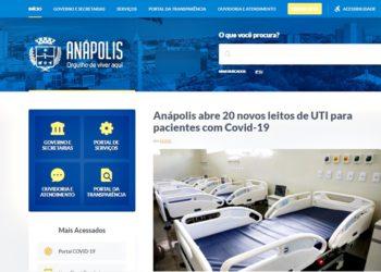 Portal Prefeitura Anápolis