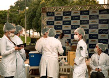 Secretaria aumentou número de pontos de vacinação, após aumento das faixas etárias a serem vacinadas