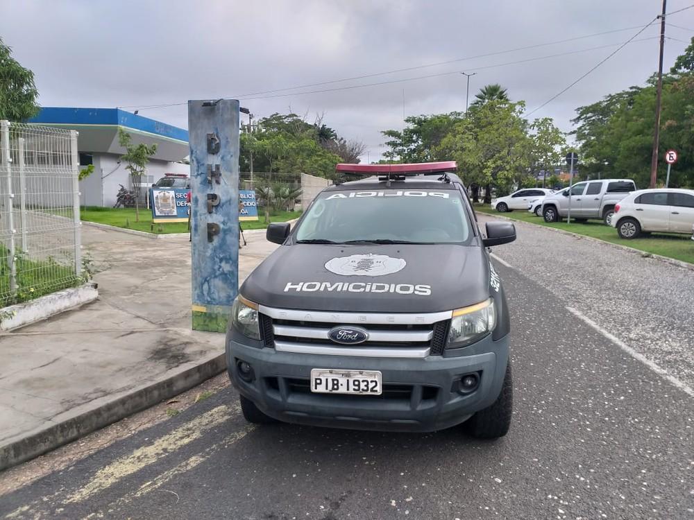 Departamento de Homicídio e Proteção à Pessoa (DHPP) em Teresina — Foto: Francisco Lima/TV Clube