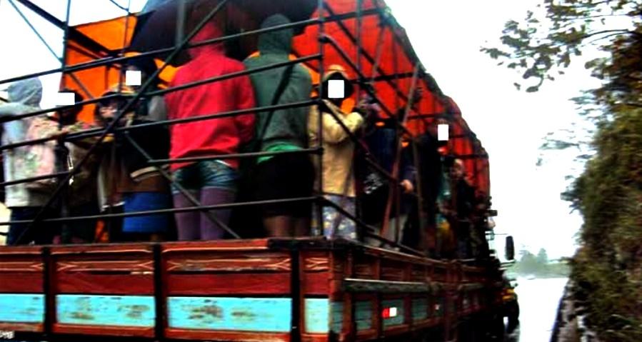 transporte trabalhador