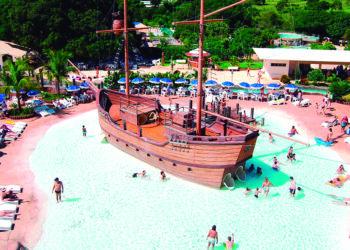 Caldas Novas é um dos principais destino do turismo no estado