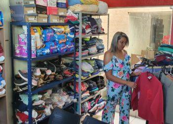 Ellyssama Aires, fundadora, já começou a receber doações para auxiliar no trabalho social.Ellyssama Aires, fundadora, já começou a receber doações para auxiliar no trabalho social.