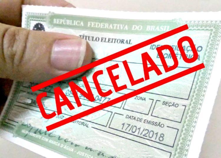 Titulos de eleitor cancelados em Anápolis