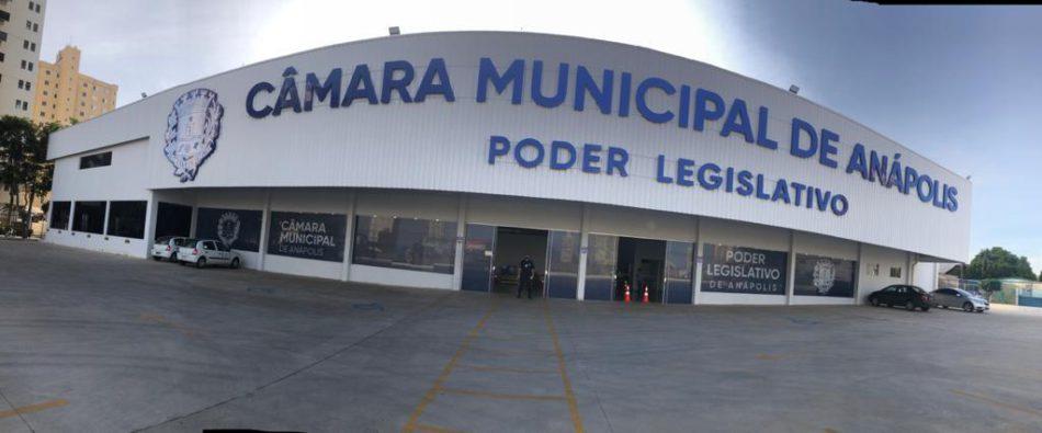Câmara Municipal de Anápolis, localizada no bairro Jundiaí