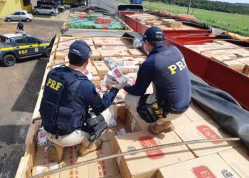 Cerca de 38% dos cigarros são contrabandeados do Paraguai (Foto: Reprodução)