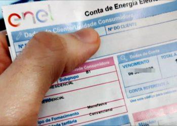 dívidas conta de energia enel