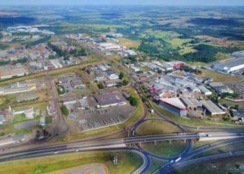 Vista aérea do DAIA, Anápolis