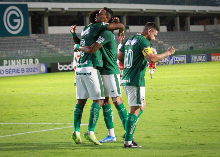 Goiás somou três pontos ao bater o CRB pelo placar mínimo (Foto: Comunicação/GEC)