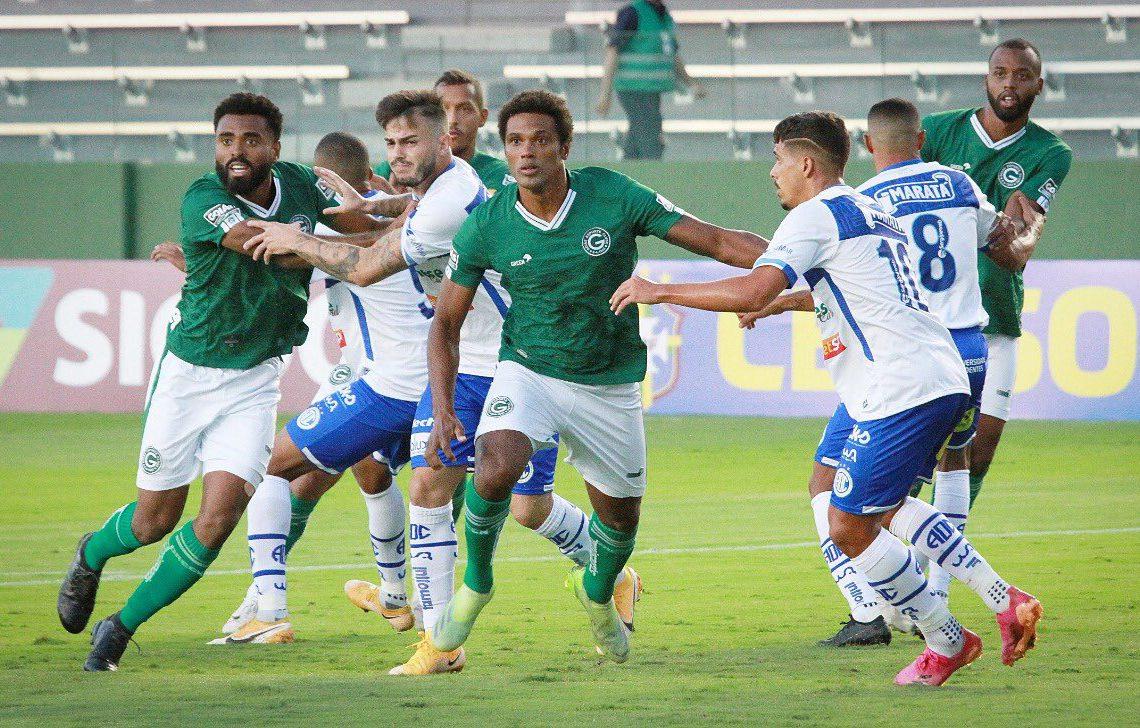 O Goiás conquistou sua primeira vitória na Série B de 2021. (Foto: Rosiron Rodrigues/GEC)