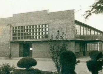 Hospital Evangélico Goiano em seus primeiros anos de funcionamento