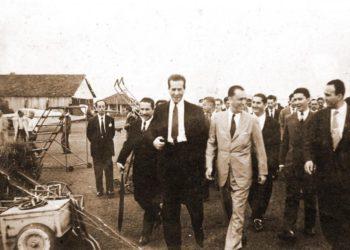 Antigo presidente passou pelo município durante construção de Brasília (Foto: Reprodução/Internet)