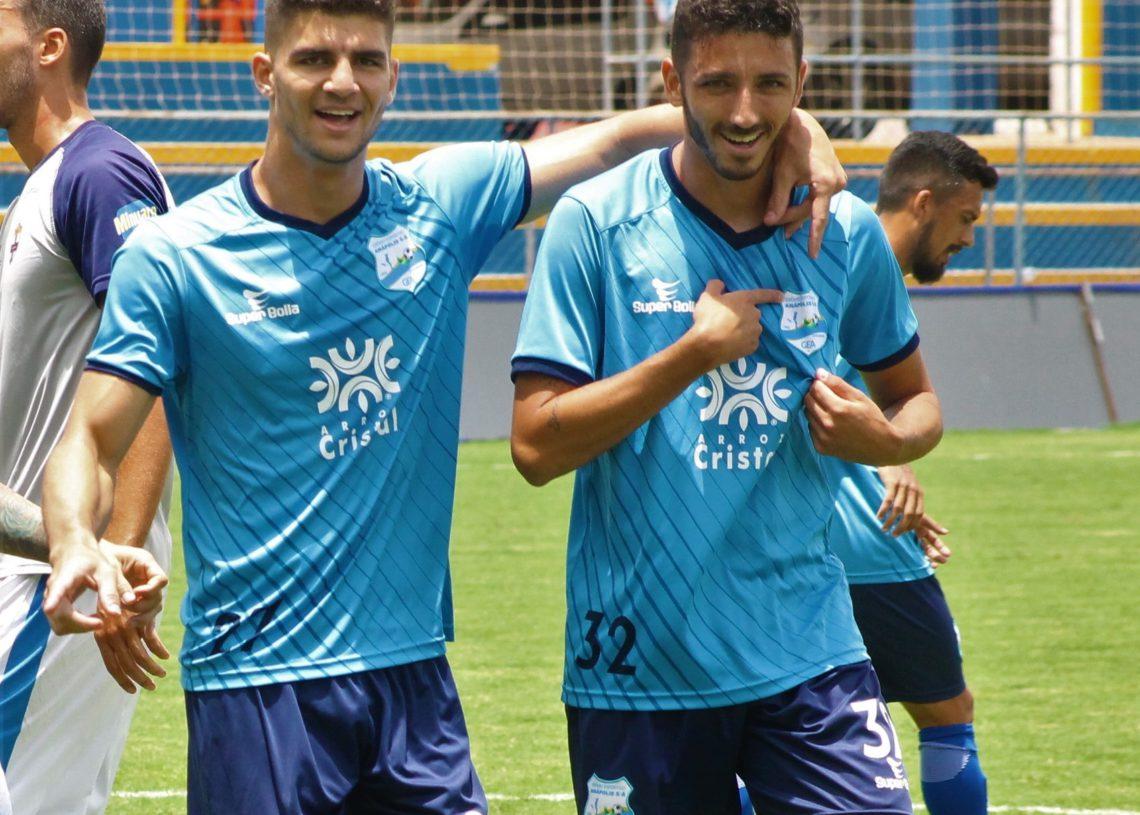 Lucão e Vitor Braga podem reeditar dupla campeã em 2022 (Foto: Comunicação/GEA)