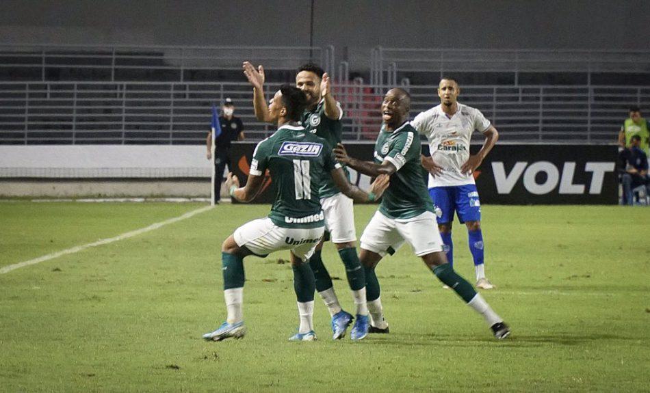 Atacante esmeraldino garantiu vitória por 1 a 0 (Foto: Comunicação/GEC)